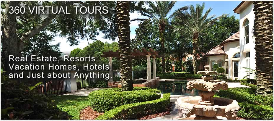 360 virtual tours, photography, and photographers near Orlando, FL.